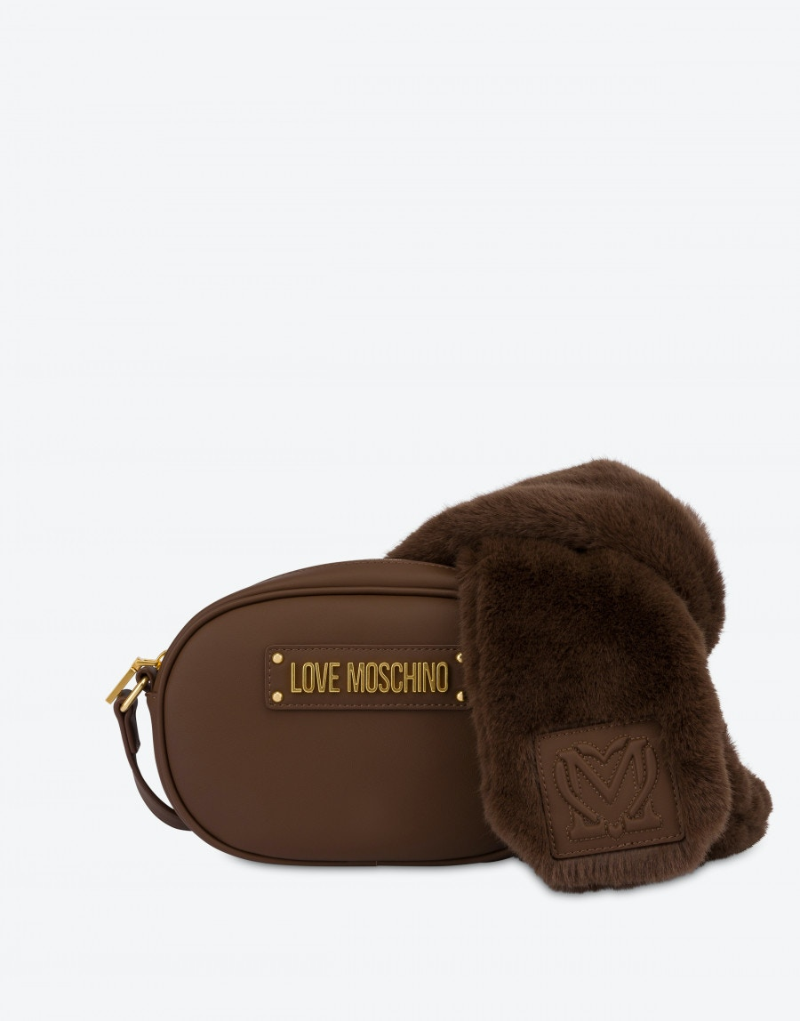 borsa a tracolla furry scarf lOVE MOSCHINO | JC4306PP0DKN0300