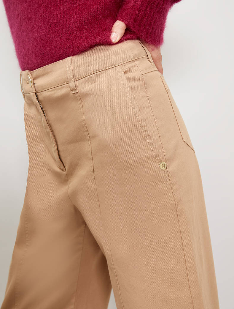 Pantaloni ampi in cotone PENNYBLACK   LITUANIA002