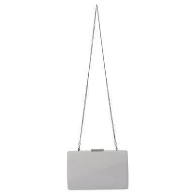 Pochette rigida elegante Jade OLGA BERG | OB7336WHITE