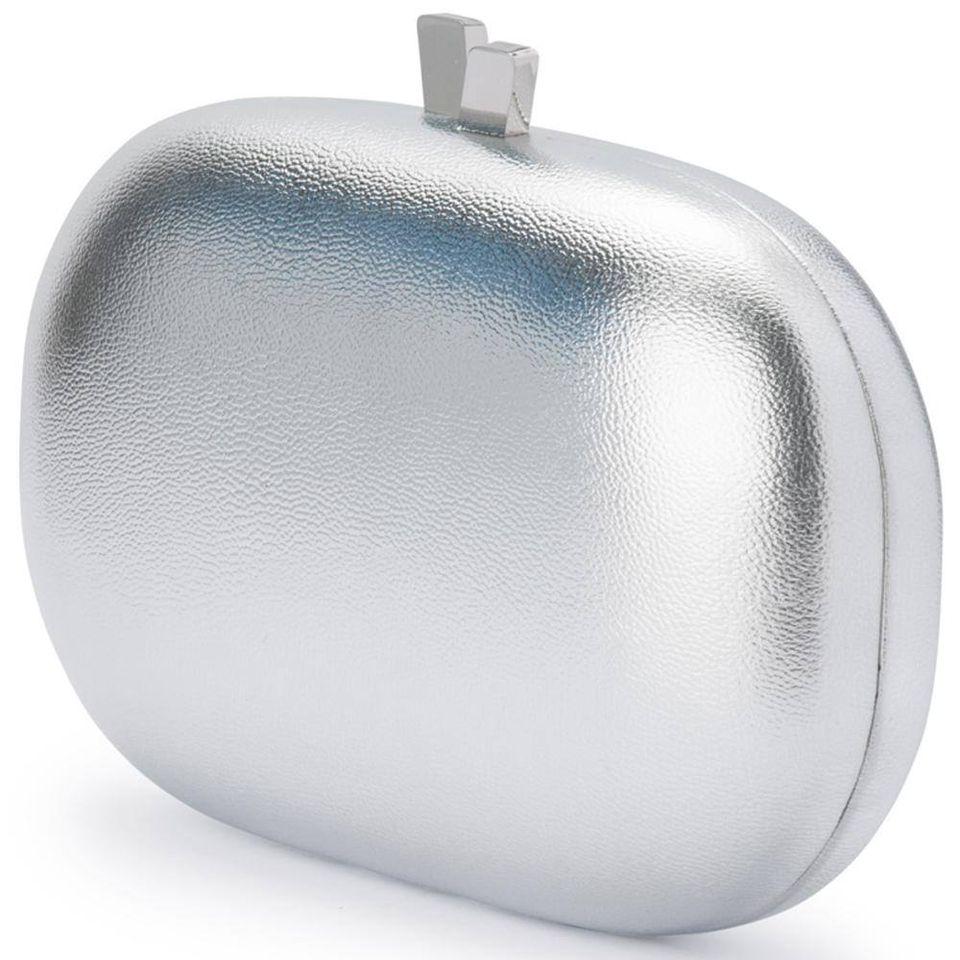 hailey metallic oval OLGA BERG | OB7416SILVER
