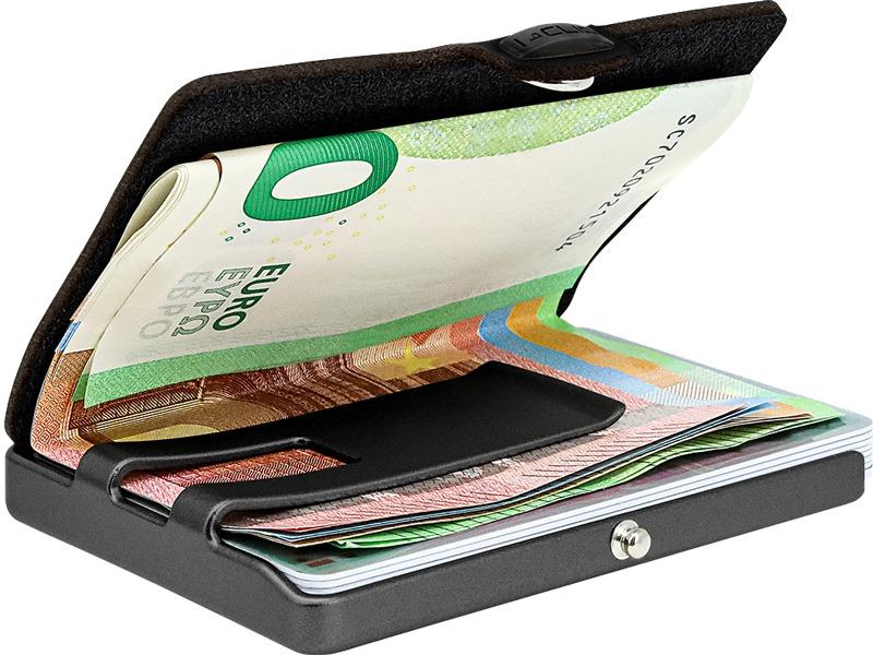 Porta carte di credito Artist I CLIP | 15839NOCE