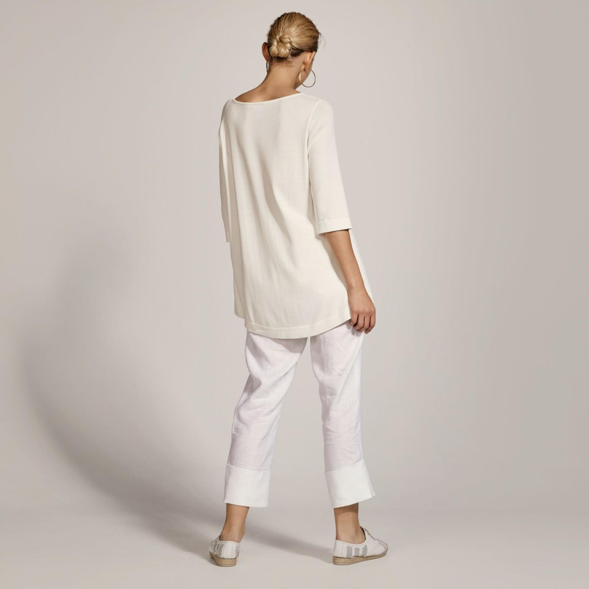 maglia manica 3/4 ACCESS fashion   S1-2002BIANCO