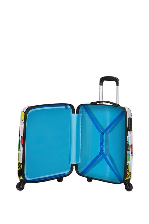 Trolley Cabin case  4 ruote | 55 cm AMERICAN TOURISTER | MARVEL LEGEND SPINNER 55MARVEL POP ART