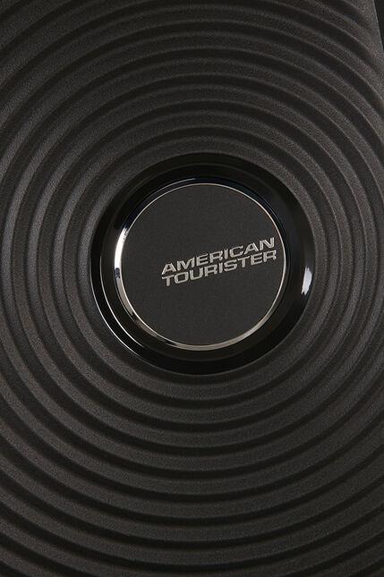 Trolley Cabin case  4 ruote | 55 cm AMERICAN TOURISTER | SOUNDBOX 55/20BASS BLACK