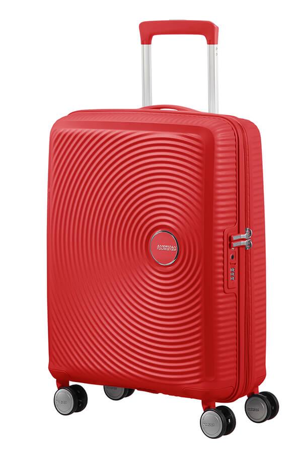 Trolley Cabin case  4 ruote | 55 cm AMERICAN TOURISTER | SOUNDBOX 55/20CORAL RED