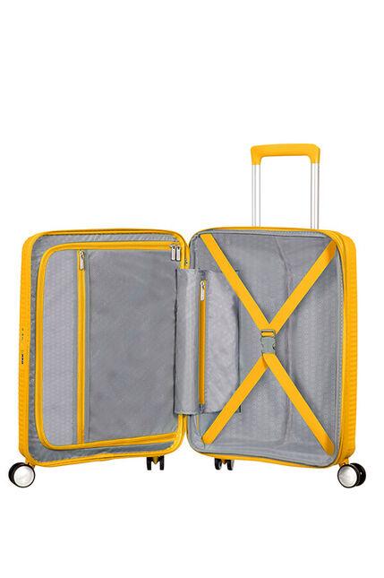Trolley Cabin case  4 ruote | 55 cm AMERICAN TOURISTER | SOUNDBOX 55/20GOLDEN YELLOW