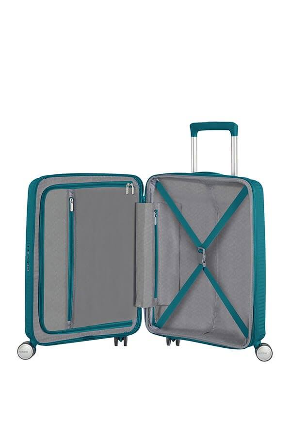 Trolley Cabin case  4 ruote | 55 cm AMERICAN TOURISTER | SOUNDBOX 55/20JADE GREEN