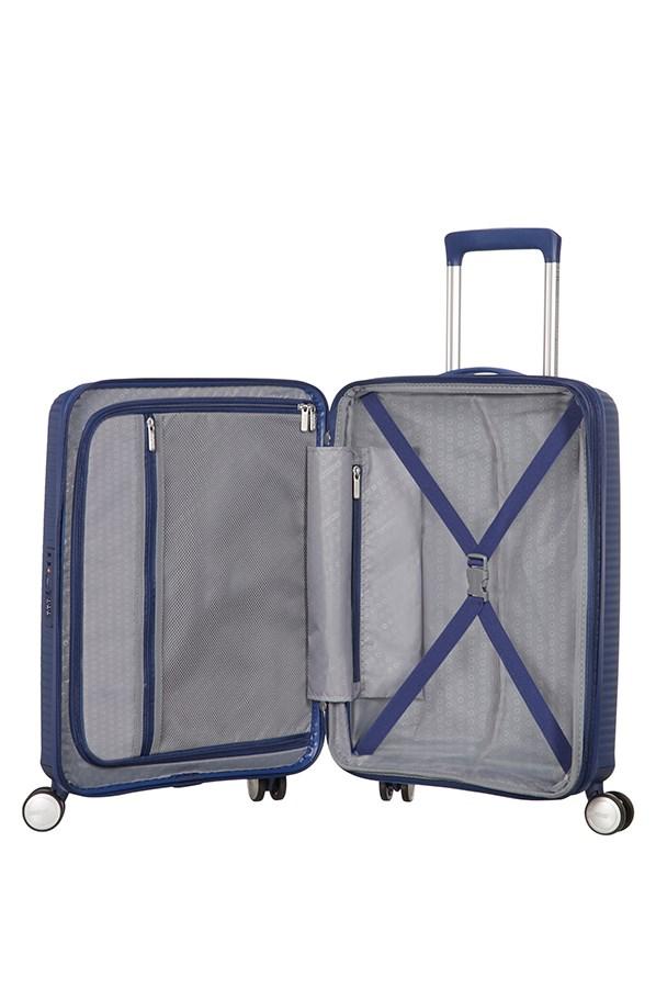 Trolley Cabin case  4 ruote | 55 cm AMERICAN TOURISTER | SOUNDBOX 55/20MIDNIGHT