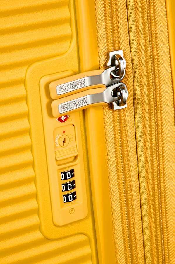 Trolley Medio 4 ruote | 67 cm AMERICAN TOURISTER | SOUNDBOX 67/24GOLDEN YELLOW