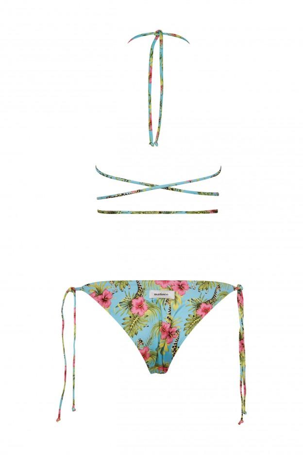 Costume triangolo Camille fantasia giraffe MATINEE   CB2059GIRAFFA AZZURRO