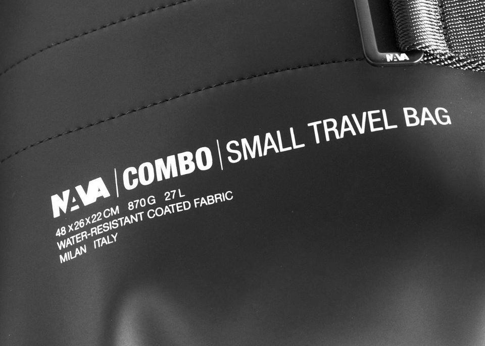 Borsone da viaggio NAVA | CM215BLACK
