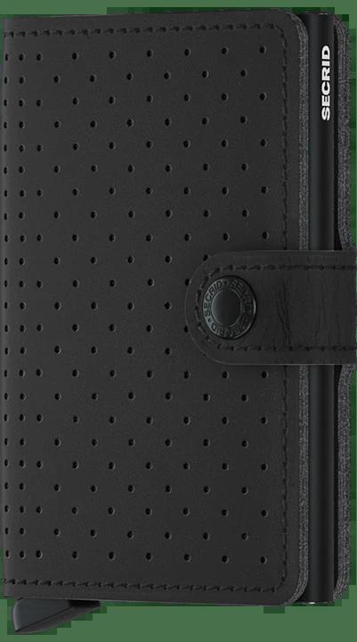 PORTACARTE PERFORATED SECRID | MPF-PERFORATEDBLACK