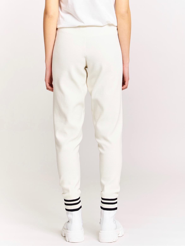 pantalone con polsino VICOLO   2069HLATTE NERO