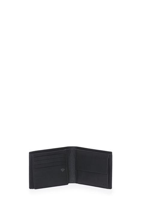 portafoglio con tasca documenti e monete serie times MANDARINA DUCK | P10KMP02651
