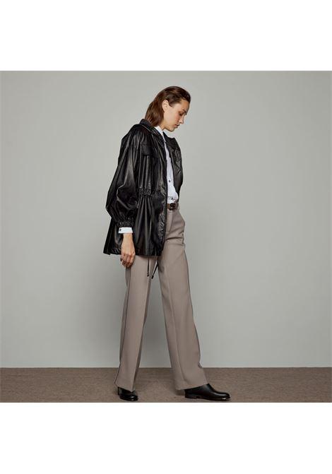 Pantaloni a vita alta con piping ACCESS fashion | W1-5138379