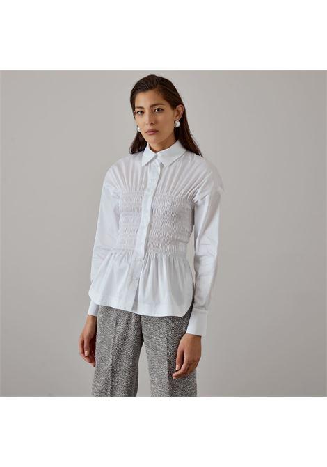 camicia con dettaglio arricciati ACCESS fashion | W1-7003118