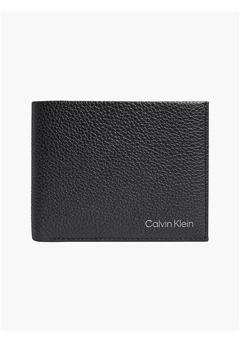 Portafoglio con portamonete CALVIN KLEIN | K50K507379BLACK