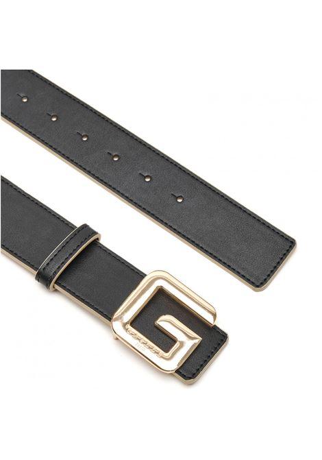 Cintura reversibile con fibbia G GAELLE paris | GBDA2687NERO ORO