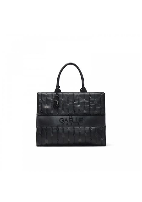 Maxi shopper con m icro logo GAELLE paris | GBDA2737NERO