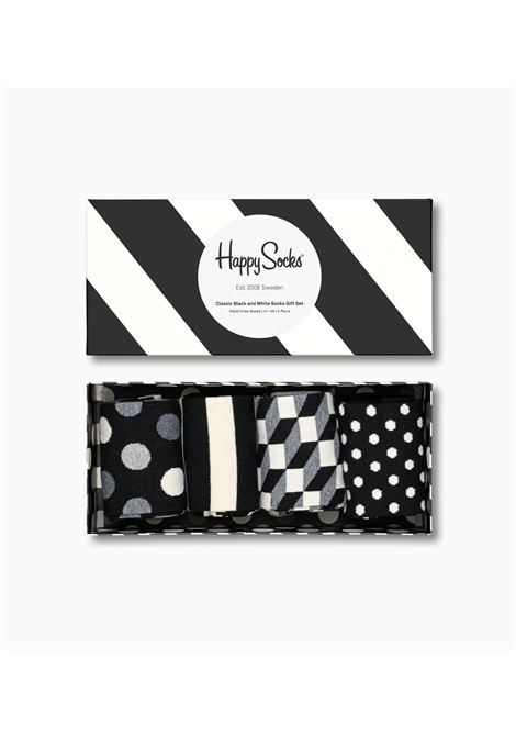 BOX CON 4 CALZINI HAPPY SOCKS | 4 PACK CLASSIC GIFT9100