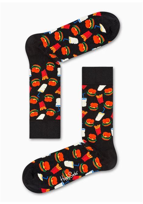 calzino hamburger HAPPY SOCKS | HAMBURGER9000