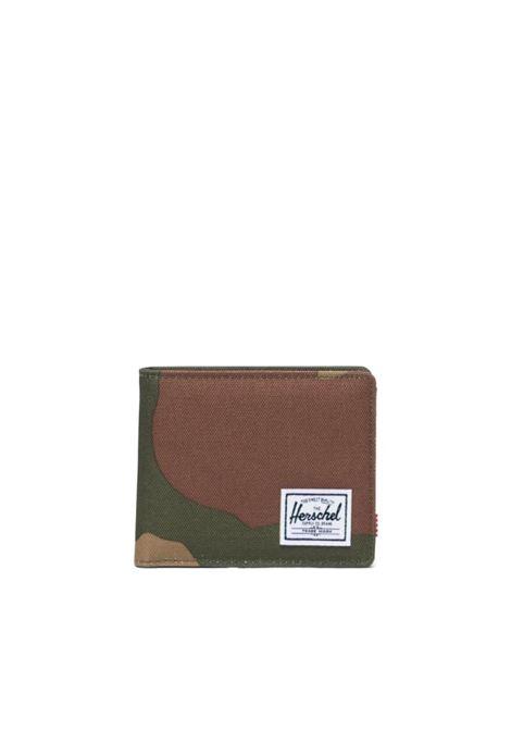 pf con portamonete roy HERSCHEL | ROY COIN RFIDWOOLAND CAMO