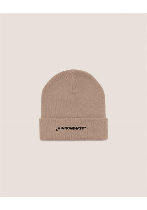 cappello a coste con risvolto HINNOMINATE | HNACA01BISCOTTO