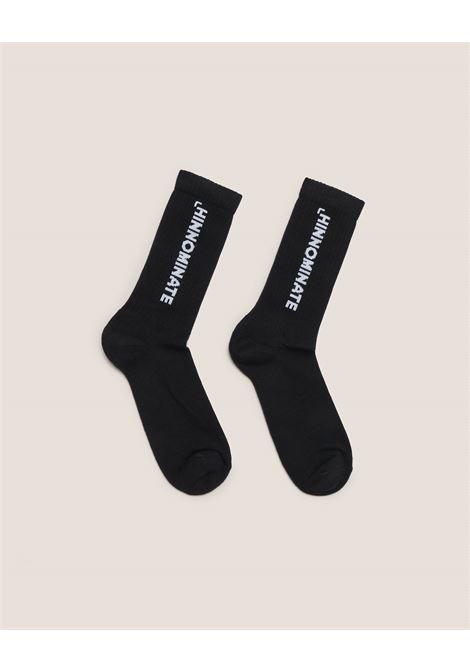 calze in cotone logo HINNOMINATE | HNAMCZ01NERO