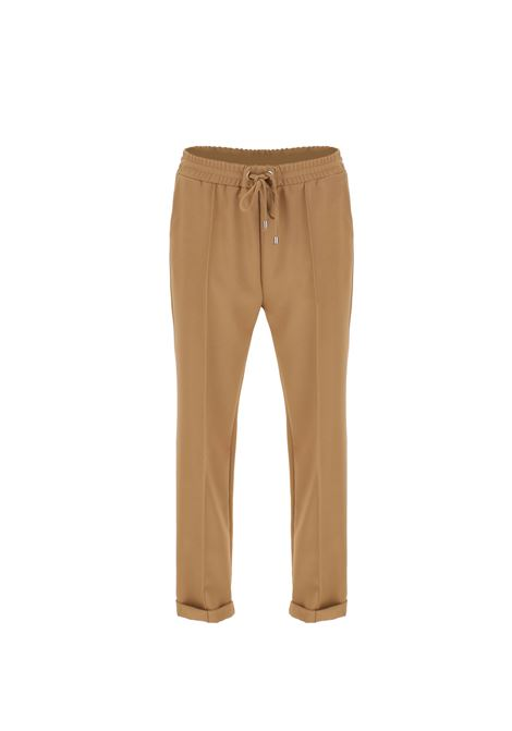 pantaloni con coulisse IMPERIAL | P1C0CENCAMMELLO