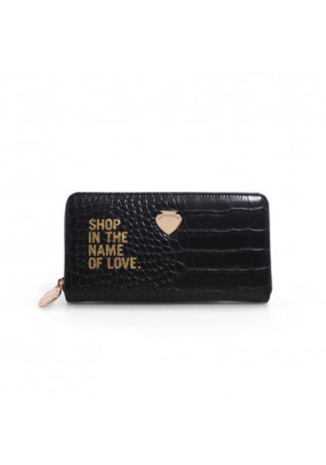 gardenia wallet love LE PANDORINE | GARDENIA WALLET LOVEBLACK