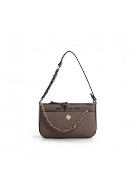 luna mini bag shop LE PANDORINE | LUNA MINI SHOPTAUPE