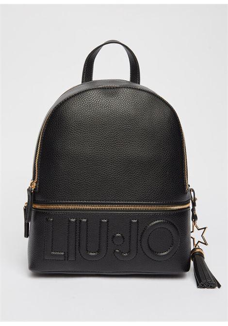 Zaino con logo LIU.JO | NF1266E008622222