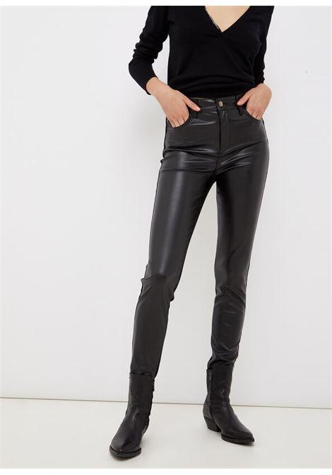 Pantalone skinny bi-materico LIU.JO | UF1054D418887177