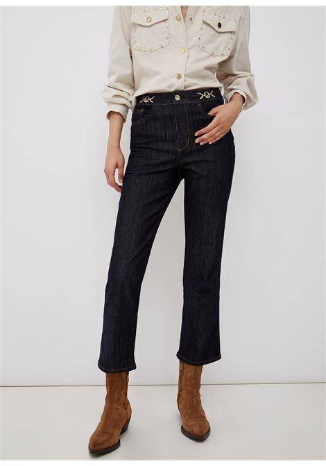 Jeans flare con dettagli gioiello LIU.JO | UF1106D309277000