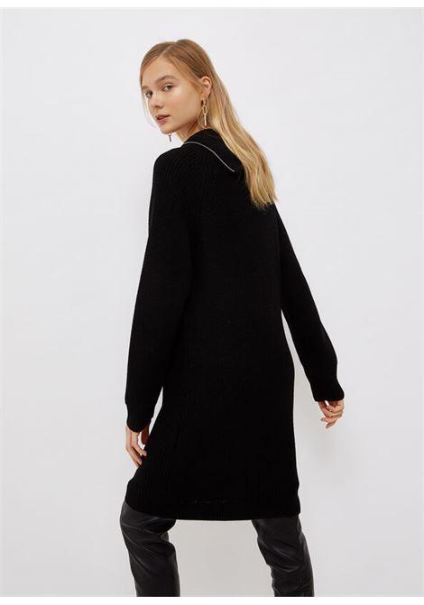 Vestito inmaglia con zip LIU.JO | WF1423MA51I22222