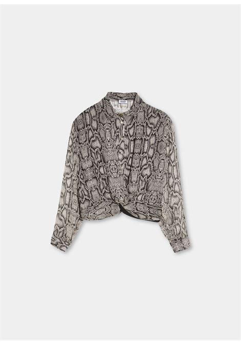Camicia con stampa pitone LIU.JO | WF1511T5441T9976