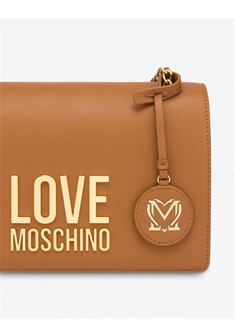 borsa a spalla Gold metal logo LOVE MOSCHINO | JC4099PP0DLJCAMMELLO