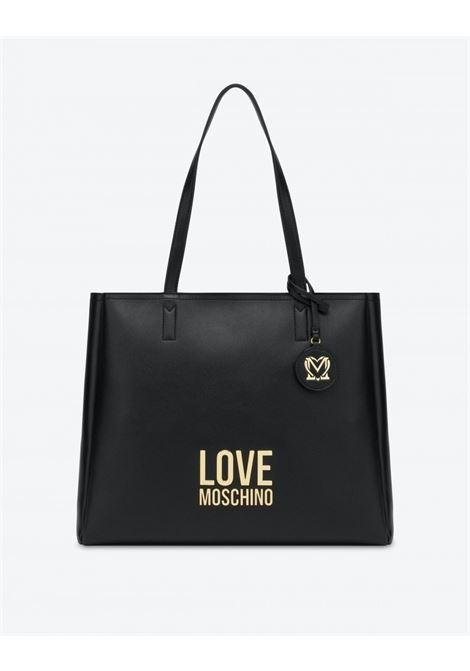 shopper gold metall logo lOVE MOSCHINO | JC4100PP0DLJ0000