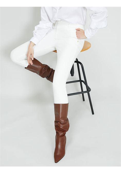 Pantalonislim  in twill PENNYBLACK | OUTLINE001