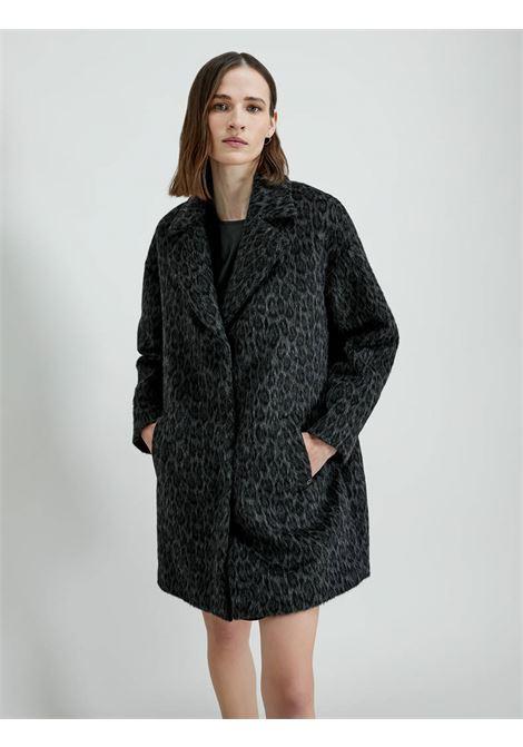 cappotto maculato in beaver PENNYBLACK | TREMILA001