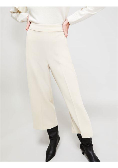Pantaloni ampii in tessuto fluido PENNYBLACK | CARRO006