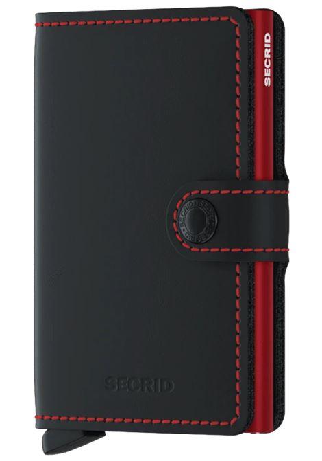 miniwallet matte SECRID | MM-MATTEBLACK RED