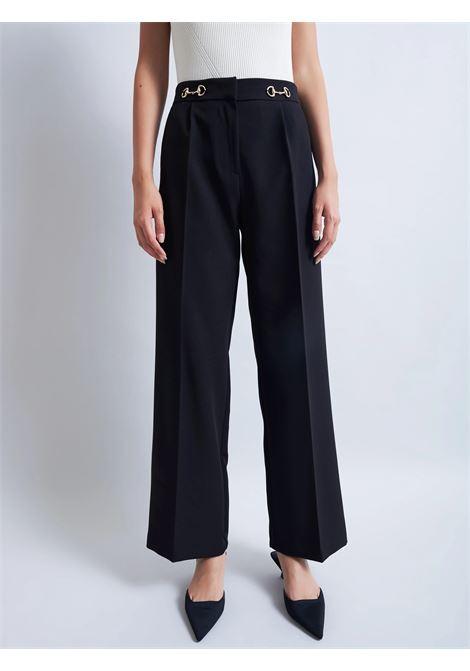 pantalone con morsetto VICOLO | TX0152NERO