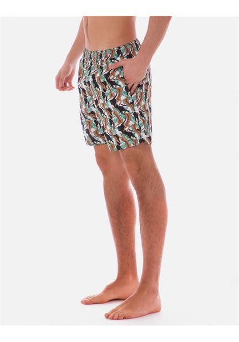 Costume con stampa leopardo POISSON D'AMOUR | 1BXLEOPARDLEOPARD BIANCO