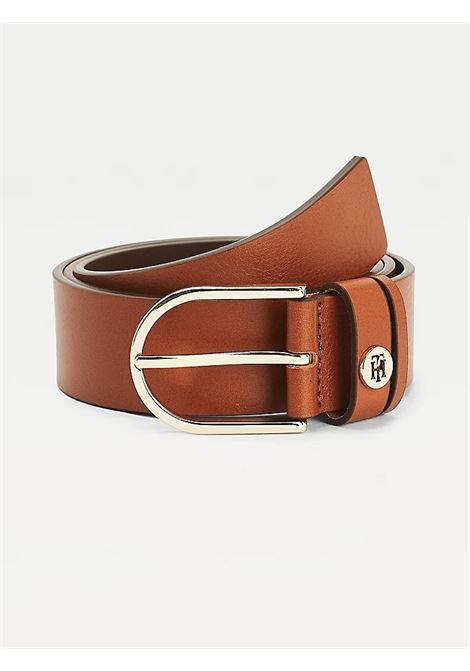 Cintura classica TH TOMMY HILFIGER | AW0AW08000GB8 COGNAC