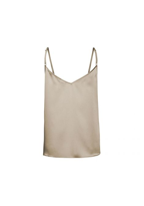 top in stilelingerie dall' aspetto satinato ACCESS fashion | S1-2152SILVER