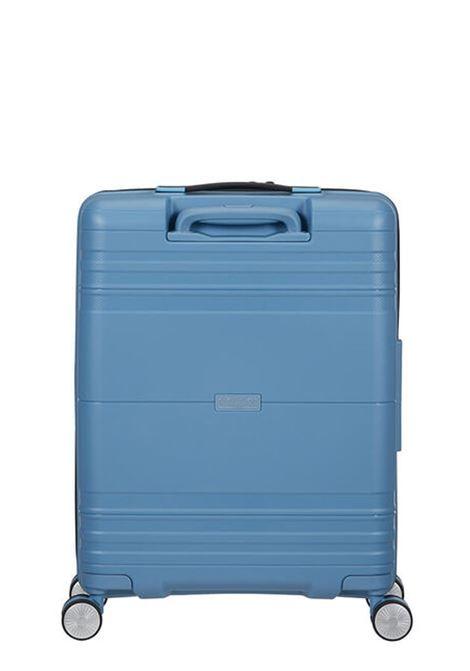 Trolley Cabin case 4 ruote   55 cm AMERICAN TOURISTER   HELLO CABIN 55/20BLUE HEAVEN