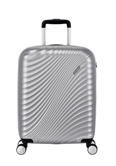 Trolley Cabin case  4 ruote | 55 cm AMERICAN TOURISTER | JETGLAM SPINNER 55METALLIC SILVER