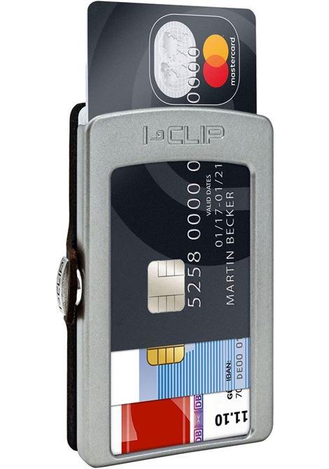 Porta carte di credito i clip soft touch I CLIP | 14498NERO