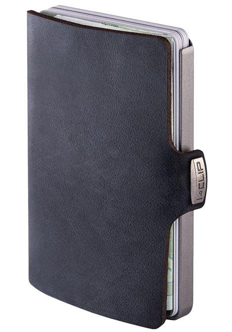 Porta carte di credito i clip soft touch I CLIP   14498NERO